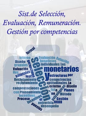 Sistemas de Selección, Evaluación, Remuneración. Gestión por Competencias.
